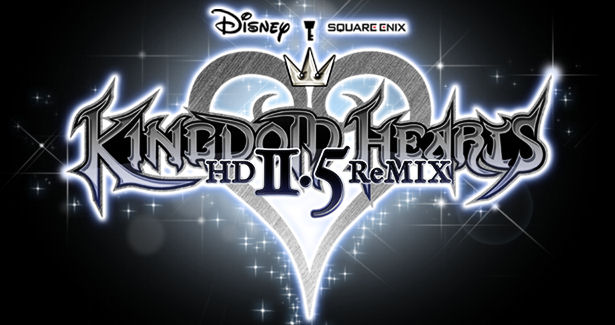 Kingdom Hearts HD 2.5 remix gameplay