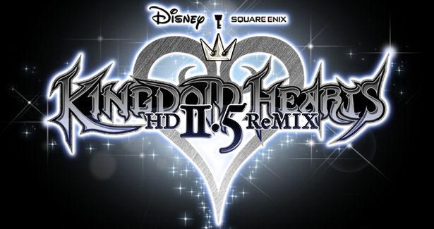 Kingdom Hearts HD 2.5 remix gameplay