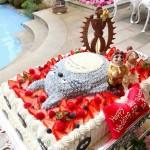 totoro en porco rosso en laputa cake
