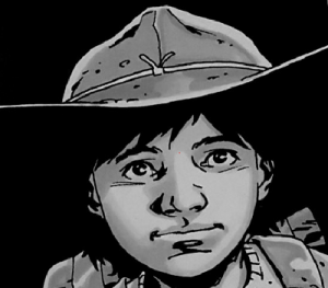 carl grimes comic
