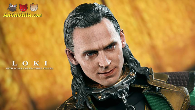 Loki presented by Hot Toys!
