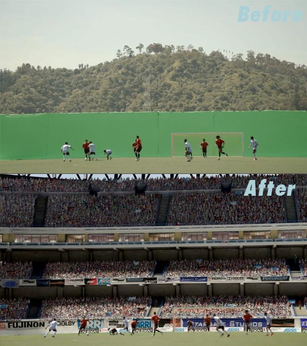 soccer scene