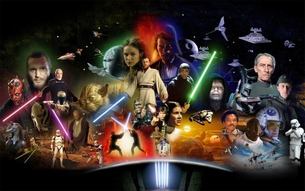 Star Wars exclusive behind the scene photos!
