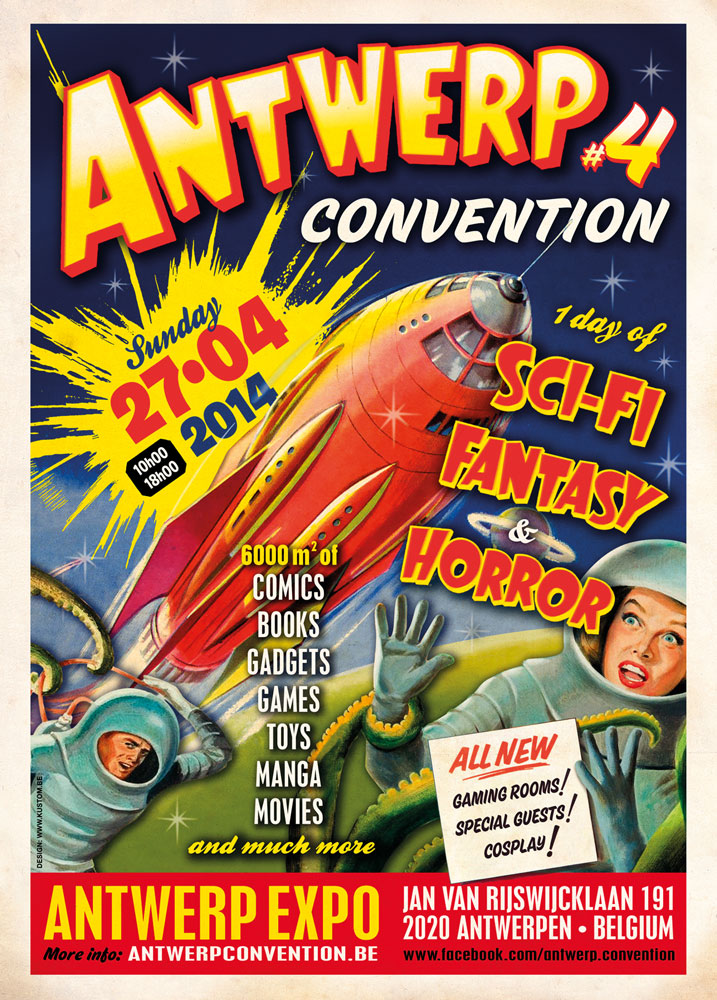 Antwerp Convention 2014 : Detailed Artists Information
