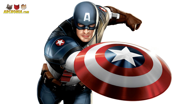 Captain America character posters
