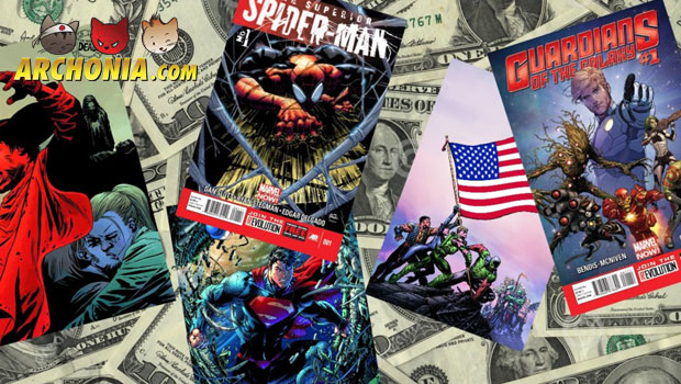 Best Selling Comics 2013