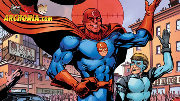 The Red Cowls Flyboy stars in his own graphic novel SIDEKICK