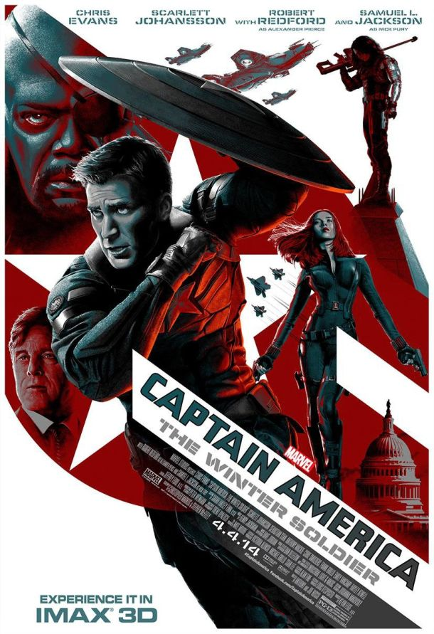 Win This Captain America Poster