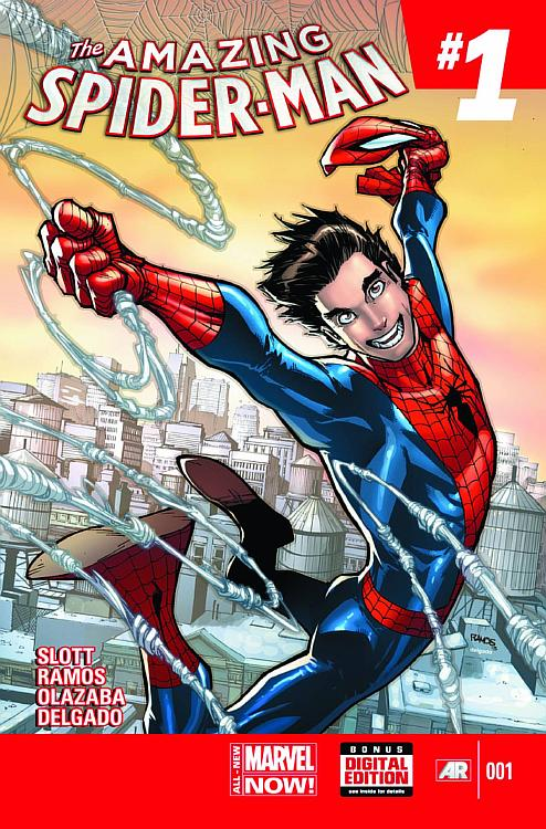 the amazing spiderman #1