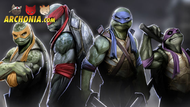 Teenage Mutant Ninja Turtles Teaser Posters Revealed!