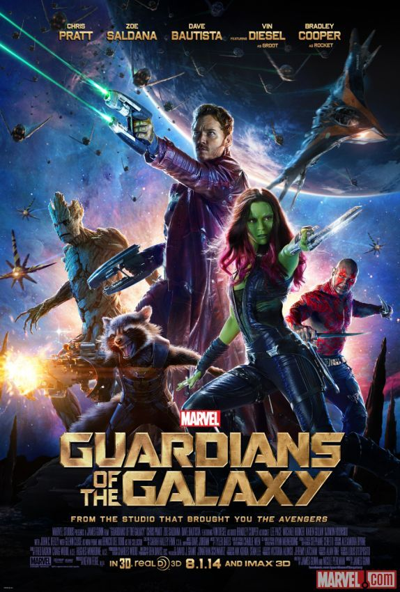 GotG new poster