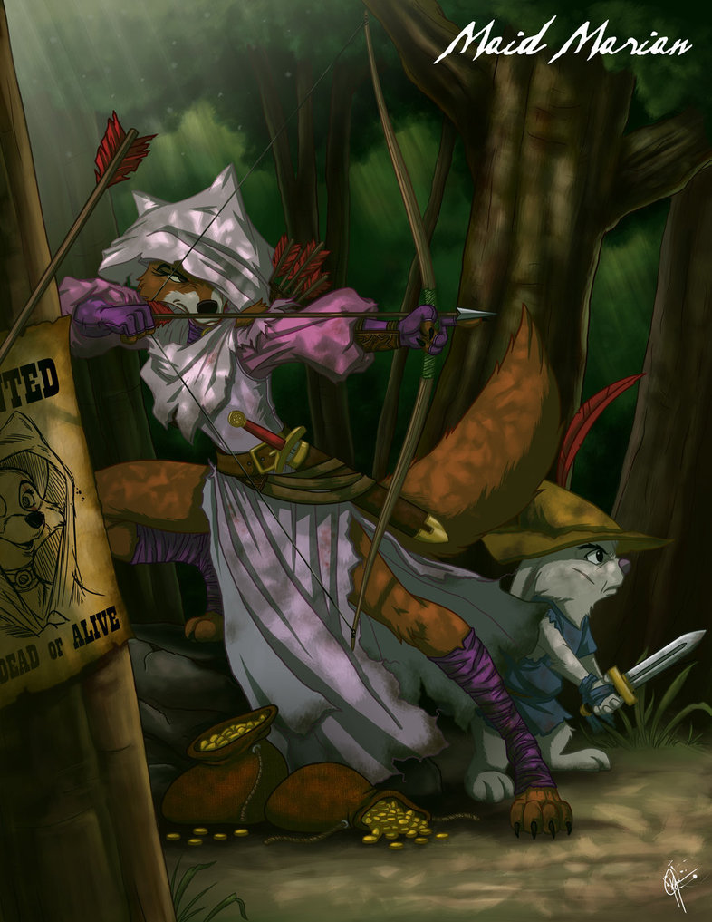 dark-fan-art-twisted-princesses-maid-marian