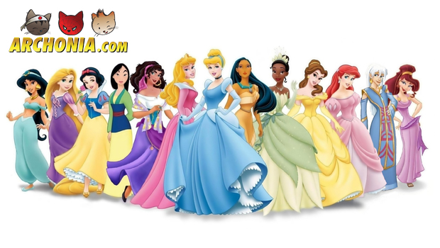 Disney Princesses...with a twist!