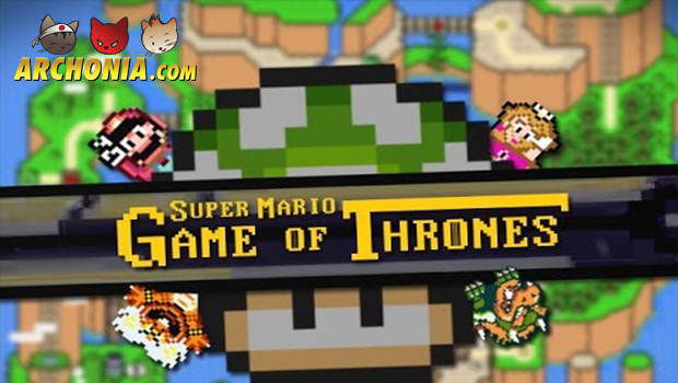 Game of Thrones intro Super Mario style!