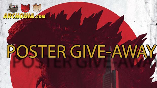 Godzilla Exclusive IMAX Poster Give-Away!