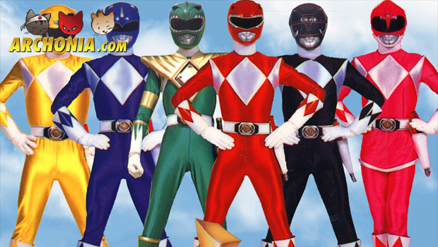 Power Rangers get an armoured redesign