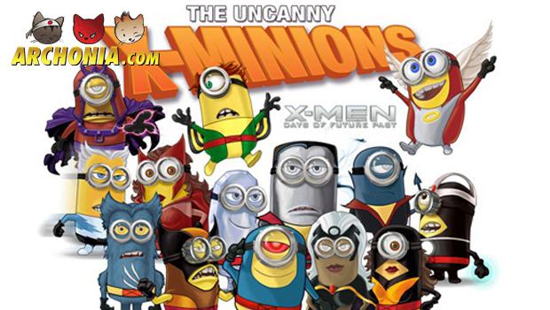 Minions as the Uncanny X-Minions!