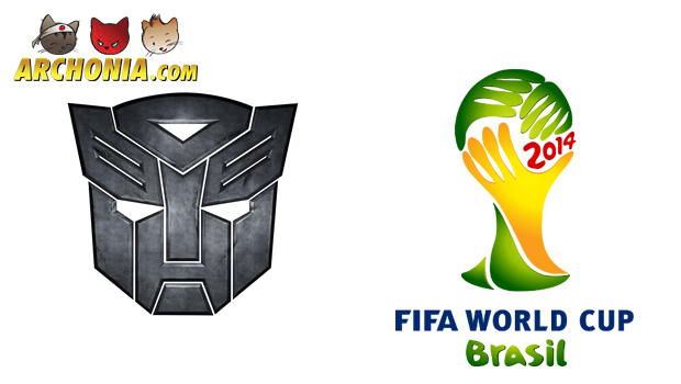 Optimus Prime Takes the Goal This World Cup 2014!