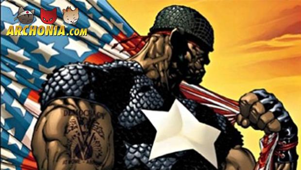 Black Captain America is coming!