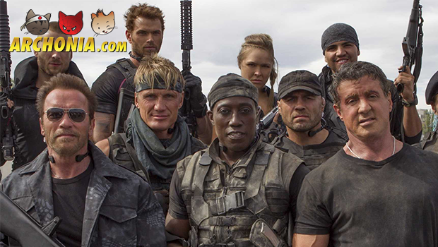 The Expendables 3 Cast Line-up