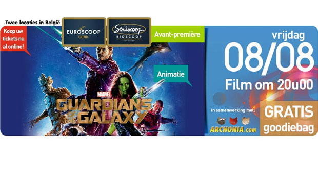 Archonia Presents: Guardians of the Galaxy in Avant-Première!