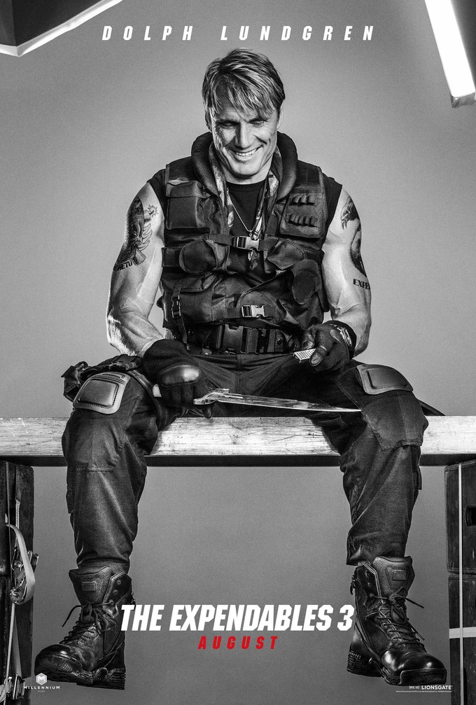 Expendables 3 - Dolph Lundgren