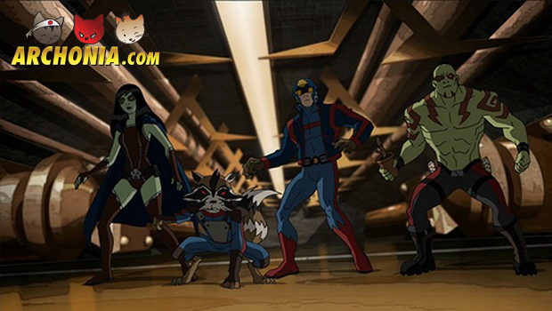 New Animated Hulk, Avengers and Guardians Series on Disney XD