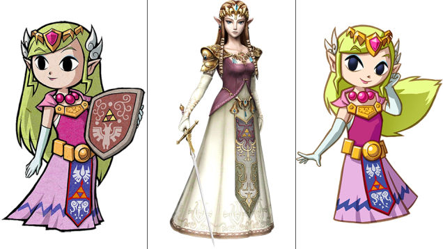 Zelda: The Minish Cap, Twilight Princess, Spirit Tracks