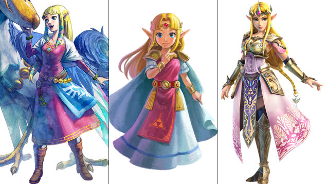 Zelda: Skyward Sword, A Link Between Worlds, Hyrule Warriors