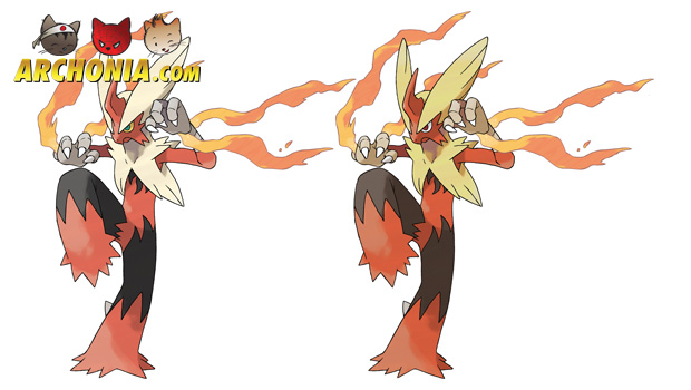 Mega Evolutions in New Pokemon Alpha Sapphire and Omega Ruby