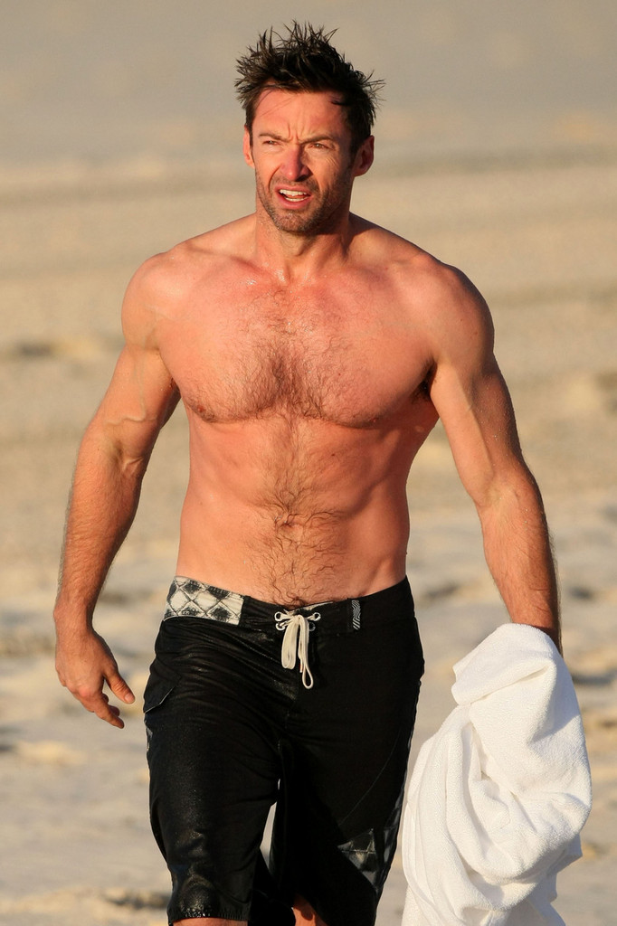Hugh Jackman - Wolverine - Top 10 Sexiest, Hottest Superheroes