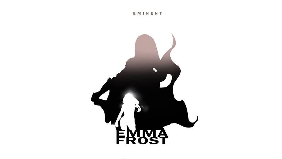 Emma Frost X-Men Character Silhouette