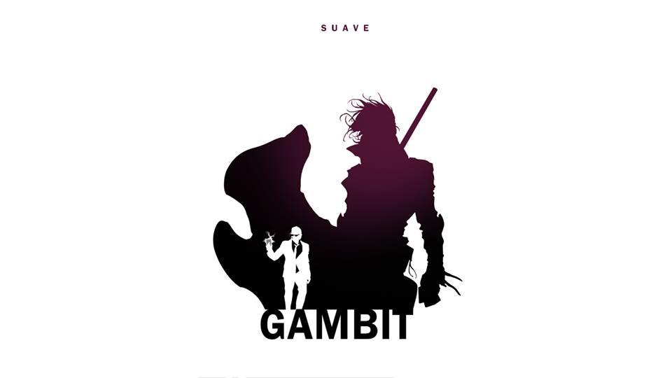 Gambit X-Men Character Silhouette