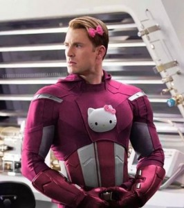 Hello Kitty - Captain America