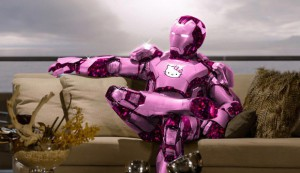 Hello Kitty - Iron Man