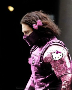 Hello Kitty - The Winter Soldier