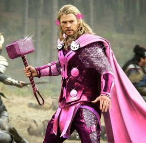 Hello Kitty - Thor