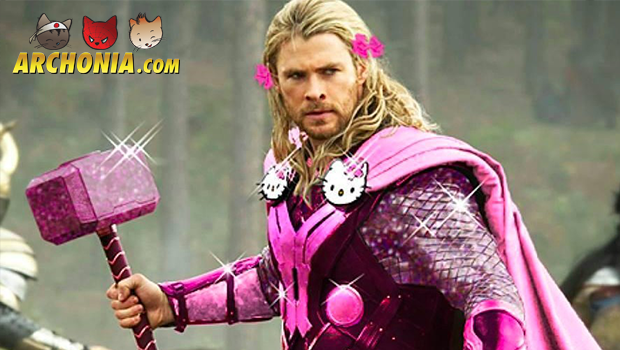 Hello Avengers! What if The Avengers bought their clothes in Hello Kitty's favorite store?