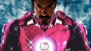 Hello Kitty - Tony Stark