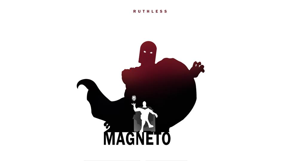 Magneto X-Men Character Silhouette