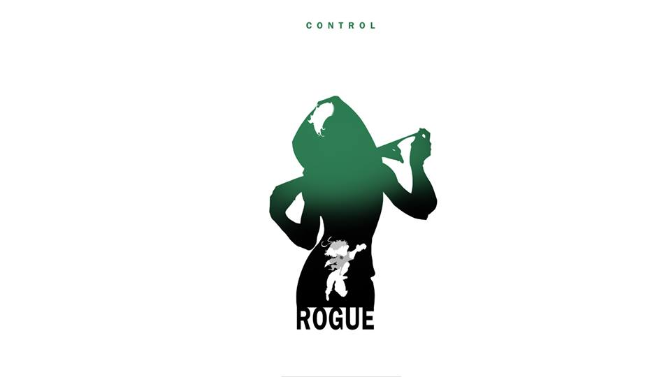 Rogue X-Men Character Silhouette