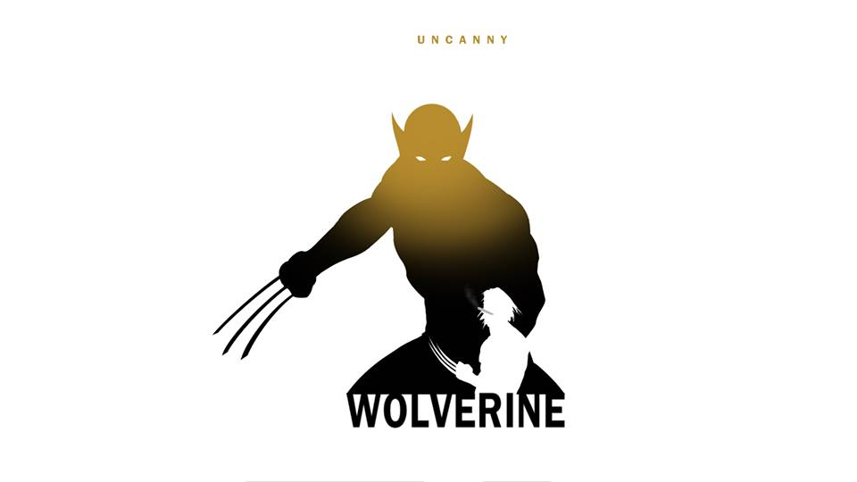 Wolverine X-Men Character Silhouette