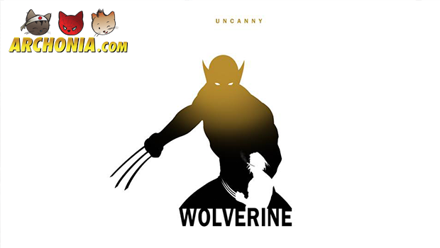 X-Men Character Silhouettes Artwork