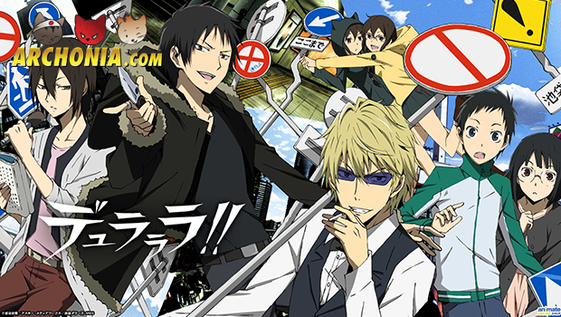 Anime Durarara!! Returns to TV for Second Season
