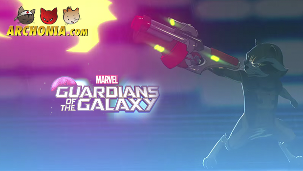 Guardians of the Galaxy Animated Series First Look