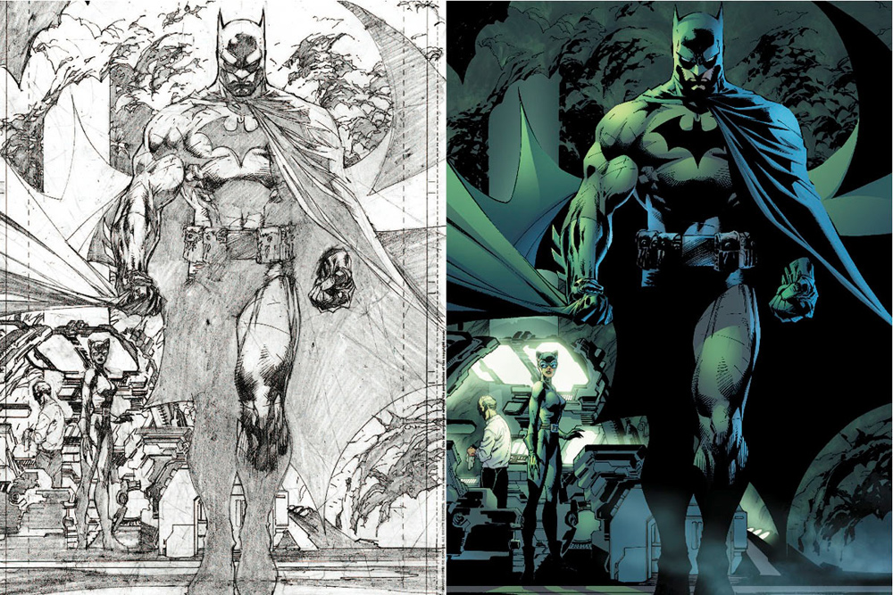 top-comic-book-artists-jim-lee,  5 reasons why you should read comics, batman, comics are art