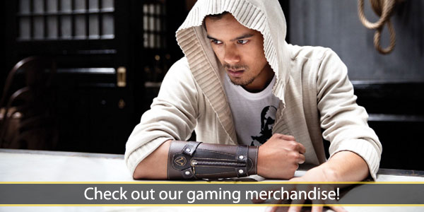 check out our gaming merchandise