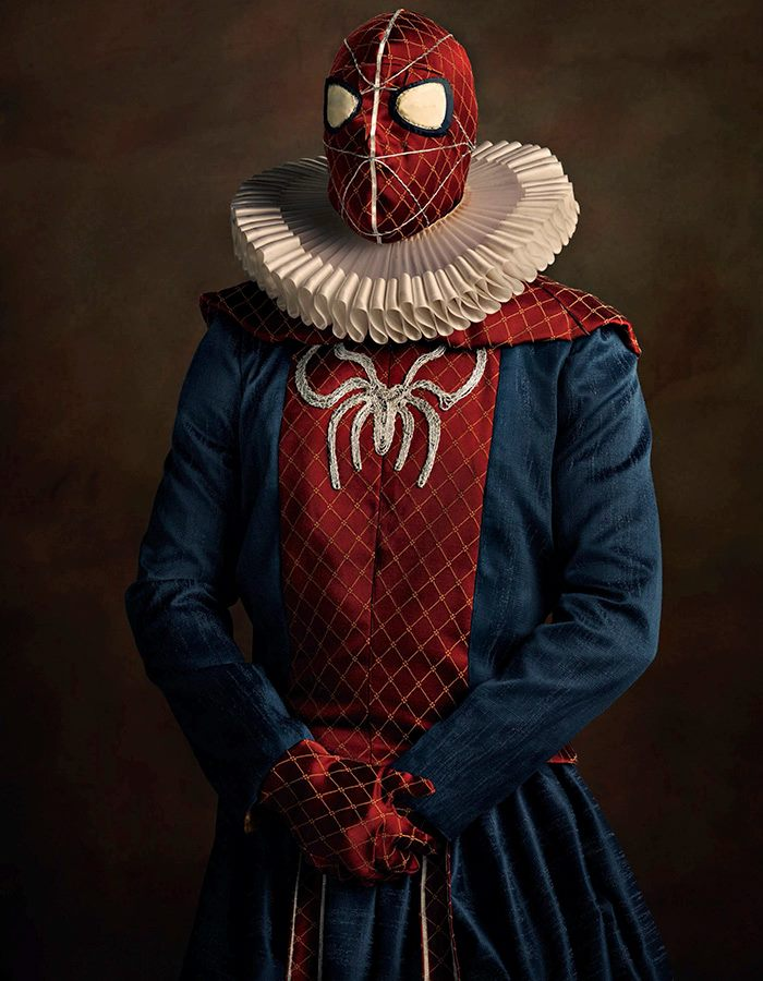 renaissance_superheroes_spiderman