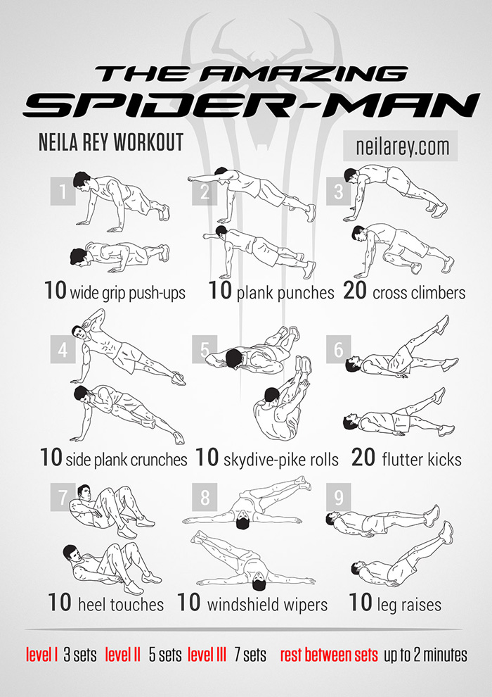 geeky<em>workout</em>Spider-Man