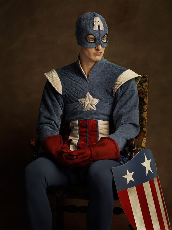 renaissance_superheroes_captainamerica